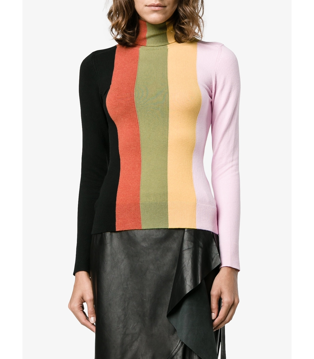 Joos Tricot Multicolor Striped Sweater - Multicolor Striped Sweater