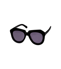 black 'one worship' sunglasses