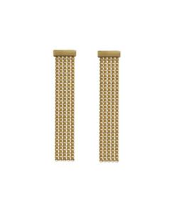 gold verge earrings