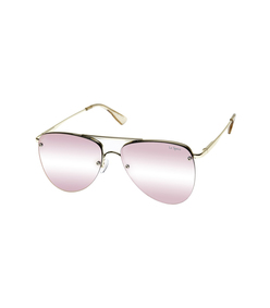 gold/blush the prince sunglasses