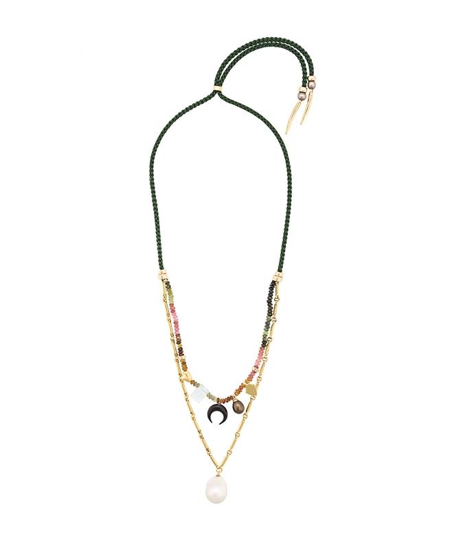 multicolor sahara charm necklace