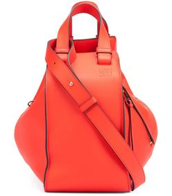 red 'hammock' bag