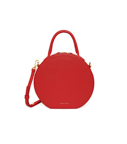 calf circle crossbody in flamma