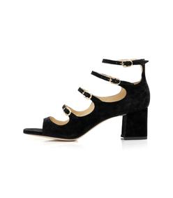 black bernadette sandal