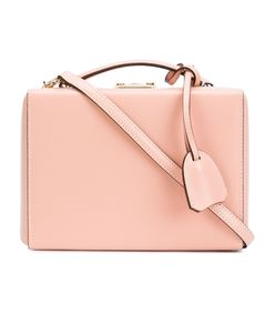 ShopBazaar Mark Cross Small Light Pink 'Grace' Box Bag MAIN