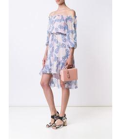 ShopBazaar Mark Cross Small Light Pink 'Grace' Box Bag FRONT