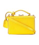 yellow mini 'grace' crossbody bag