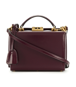 burgundy small grace bag