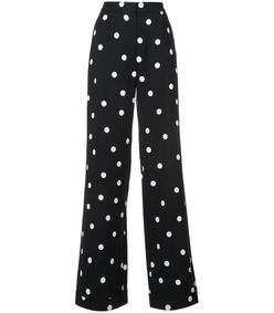 black & white polka dot pant