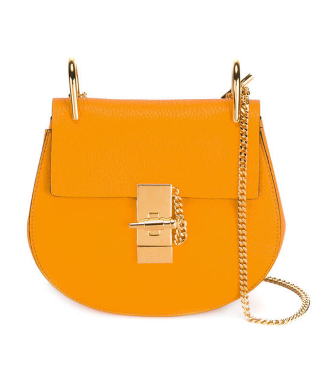 yellow 'drew' crossbody bag