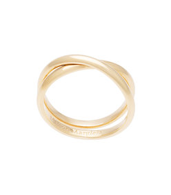 gold twist band ring