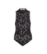black nightfall lace bodysuit