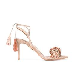 nude 'wild thing' sandal