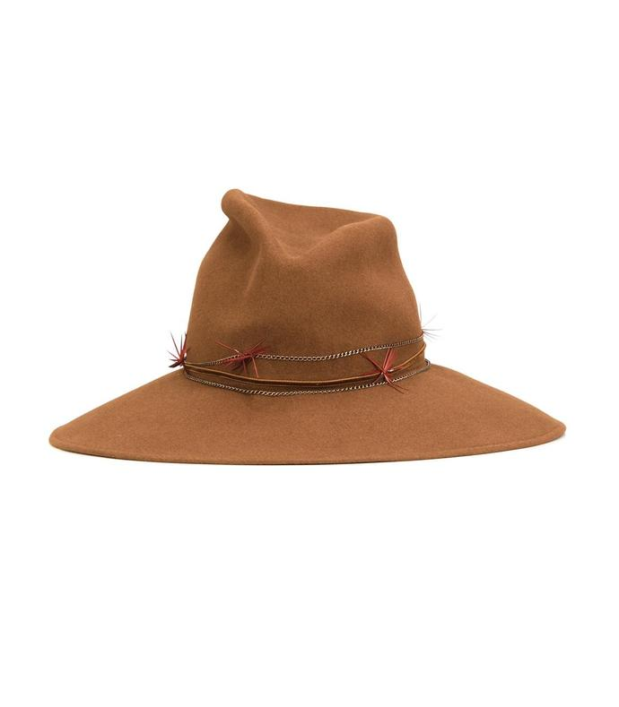 brown 'drake' hat