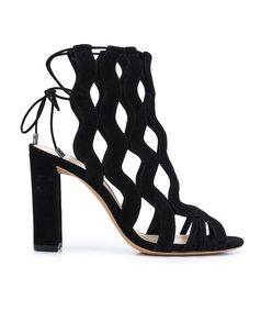 black 'loretta' sandal