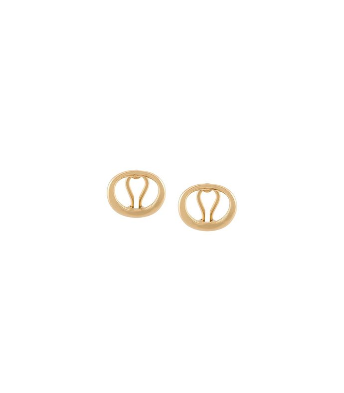 gold 'naho' earrings