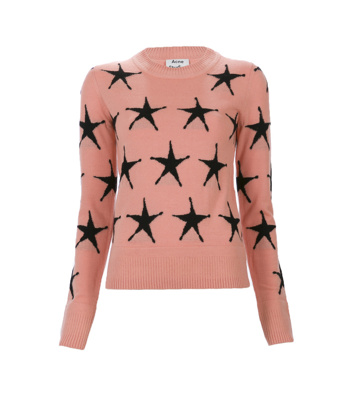 pink 'pacis' star sweater