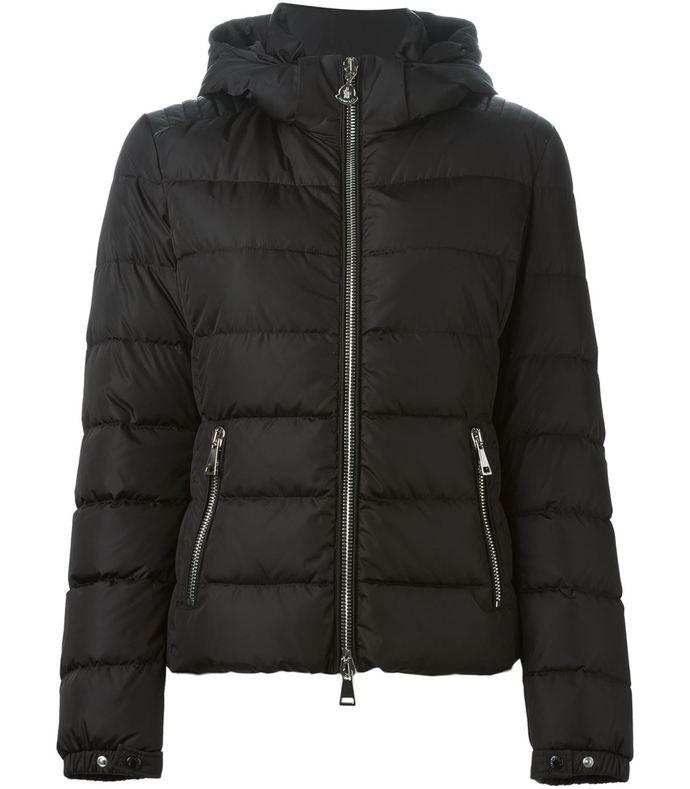 black 'oiron' padded jacket