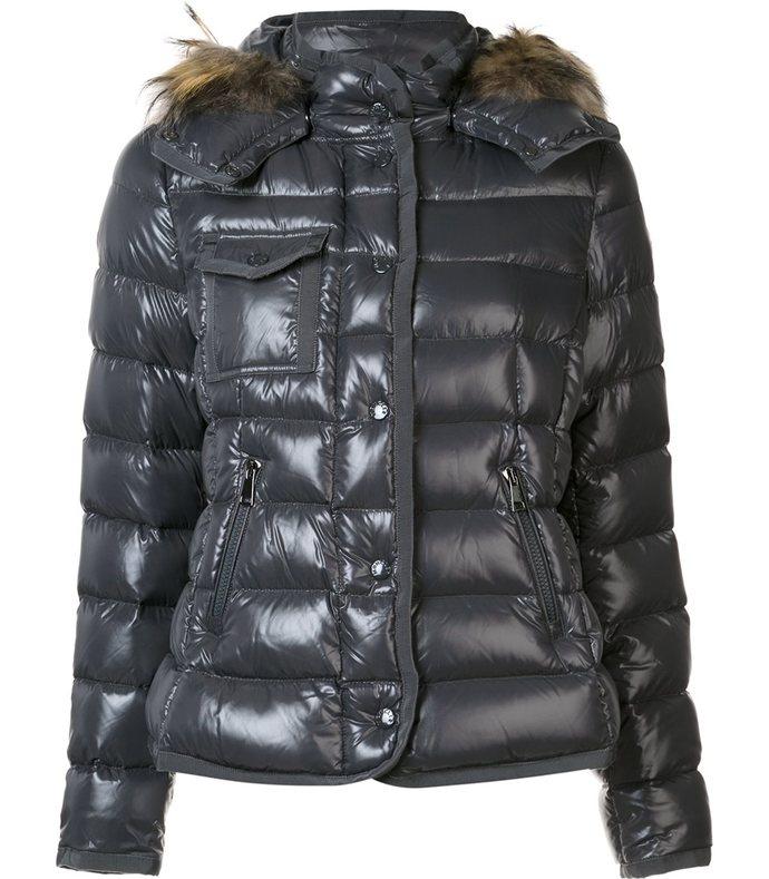 black 'lioran' padded jacket