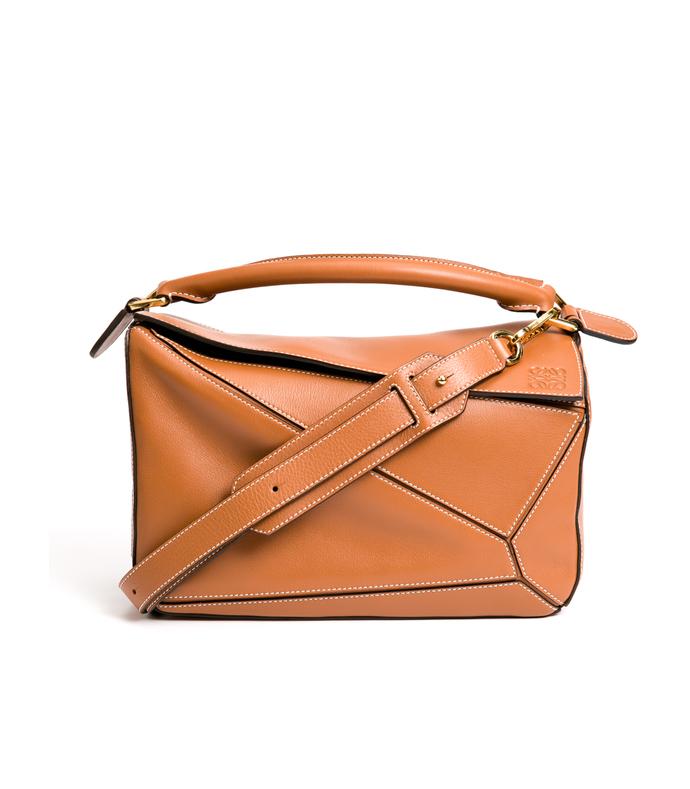 brown 'puzzle' bag