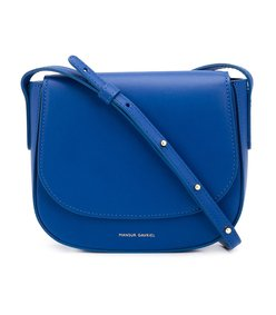 blue mini 'calf crossbody' bag