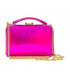 pink mini 'grace' box clutch