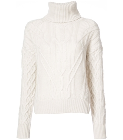 ivory cecil oversized neck sweater