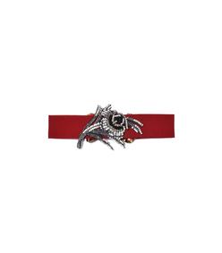 red elastic belt
