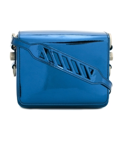 blue binder clip mirror bag