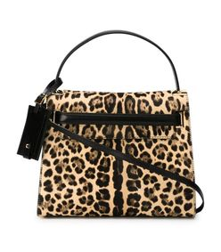 leopard 'my rockstud' tote