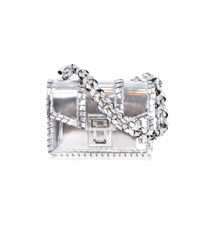 silver hava chain handbag