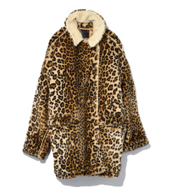 leopard hunting coat