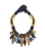 navy 'arcade' necklace