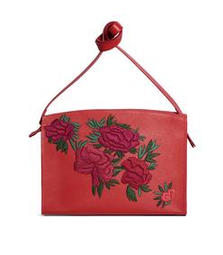 fire floral leisure bag
