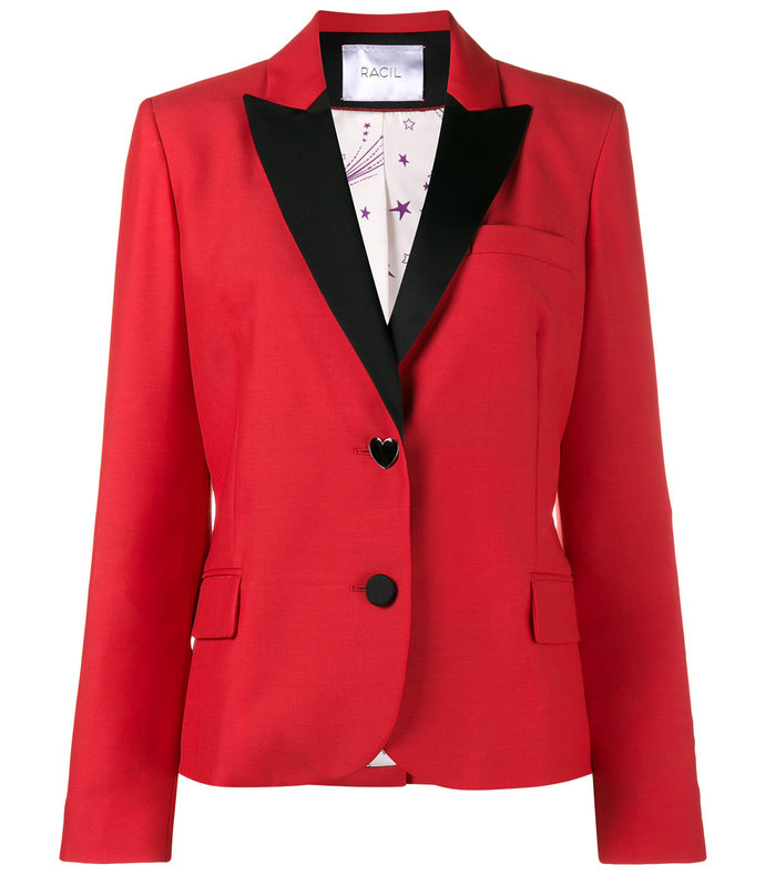 red 'mick' blazer