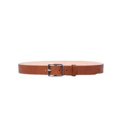 pebbled tan boyfriend belt