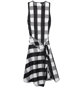 black & white brighton dress