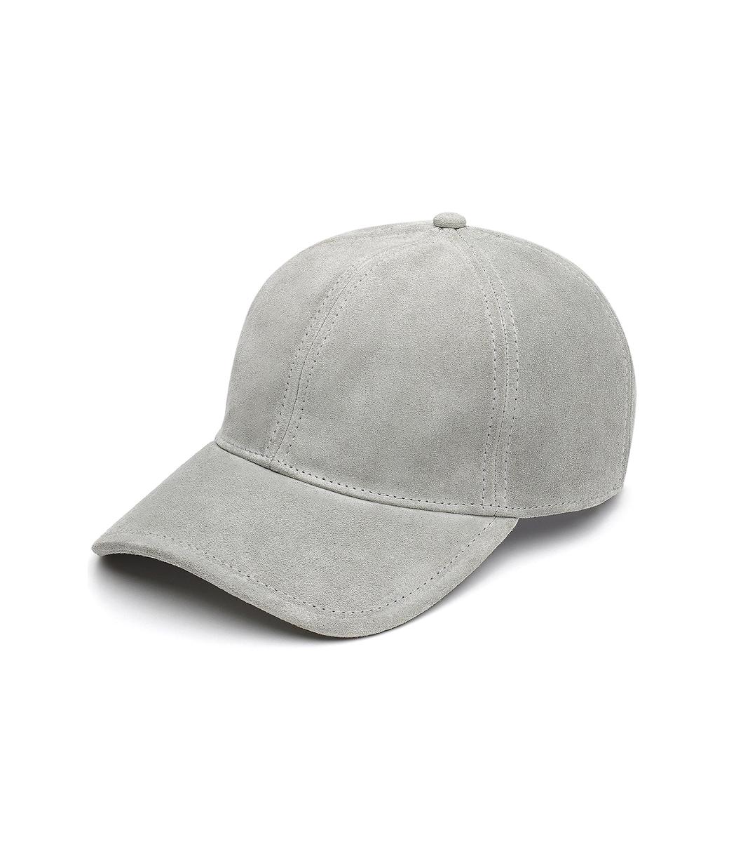 Shop Rag   Bone Grey  Marilyn  Suede Baseball Cap bd9341123d2