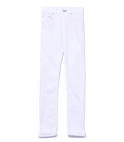 aged bright white jean