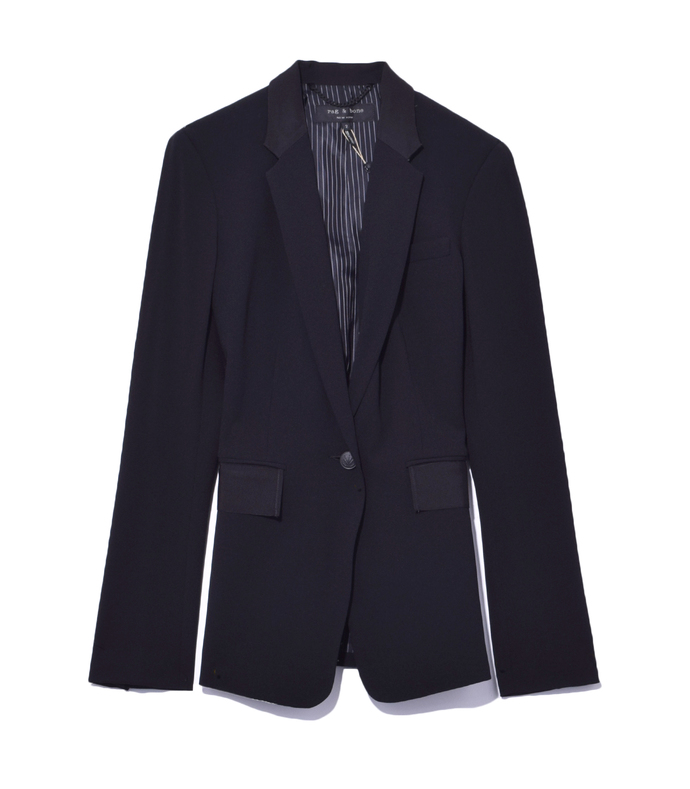 black 'windsor' blazer