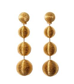 ShopBazaar Rebecca de Ravenel Gold 'Les Bonbons' Earrings MAIN