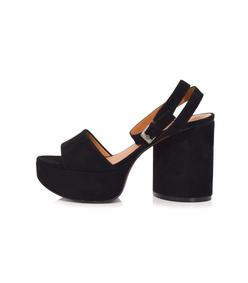 black vionica heel