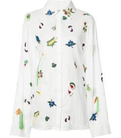 salad print shirt