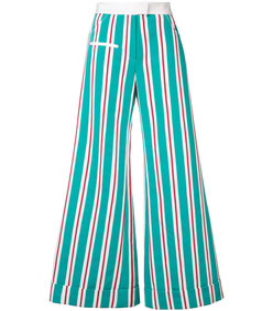 multicolor striped ribbon pant