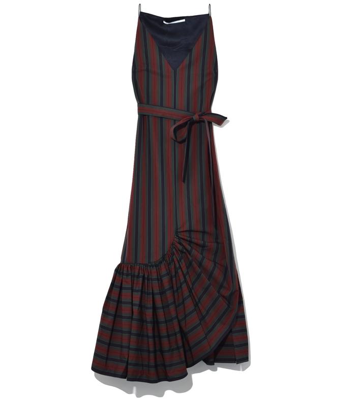 Multicolor Ruffle Camisole Dress 210000030740