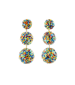 multicolor 'gaya' earrings