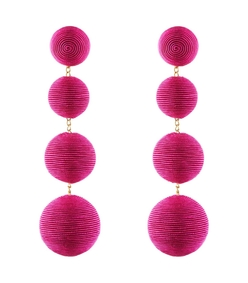 fuchsia les bonbons earrings