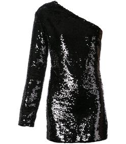 black edie fitted mini dress