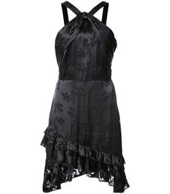 black faye halter dress