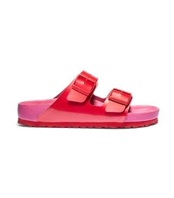 red & fuchsia arizona strap slide